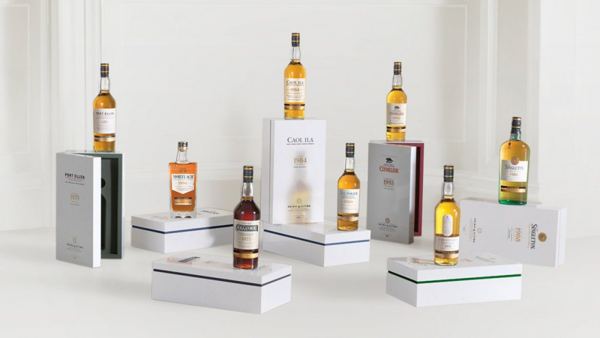 This Set apart of eight Ultra-Rare Single-Malt Scotch Whiskies Can Be Yours for $25,000