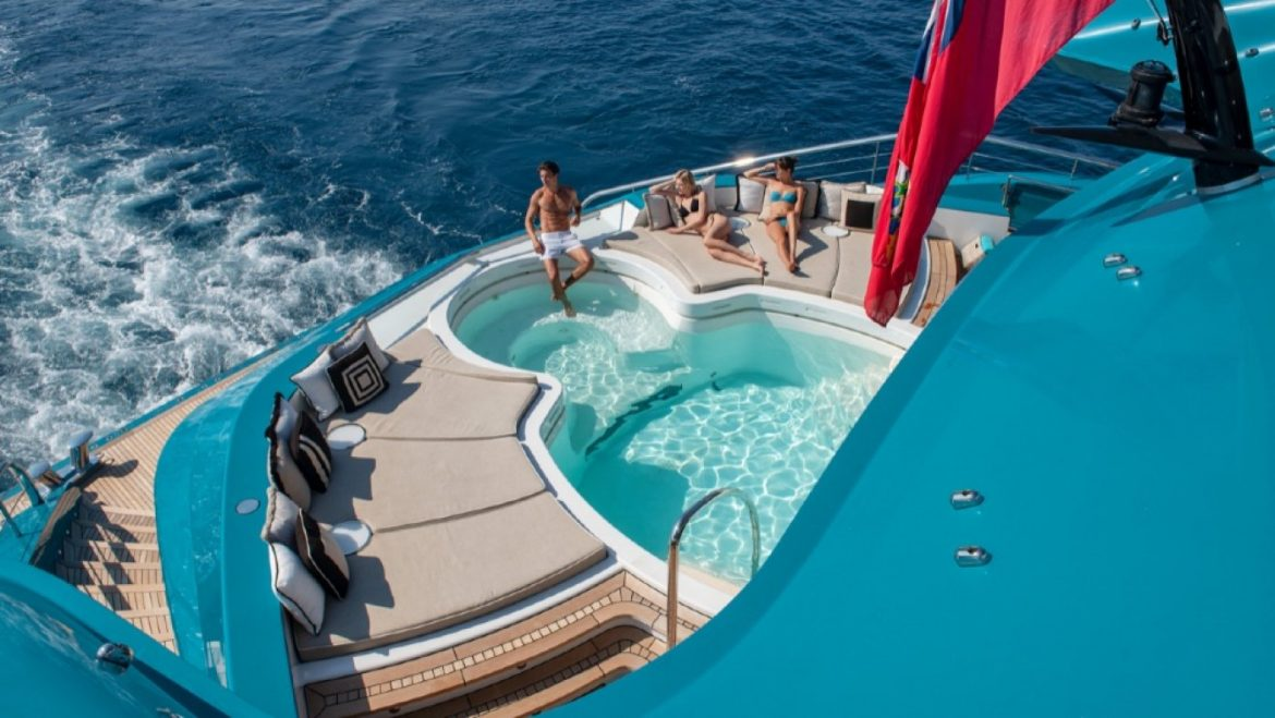 Boat of the Week: Interior a Rule-Breaking 279-Foot Superyacht With three Palatial Suites on the Proprietor's Deck