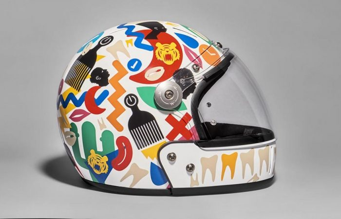 These Ingenious, One-of-a-Kind Bike Helmets Were Designed by Artists for a True Reason