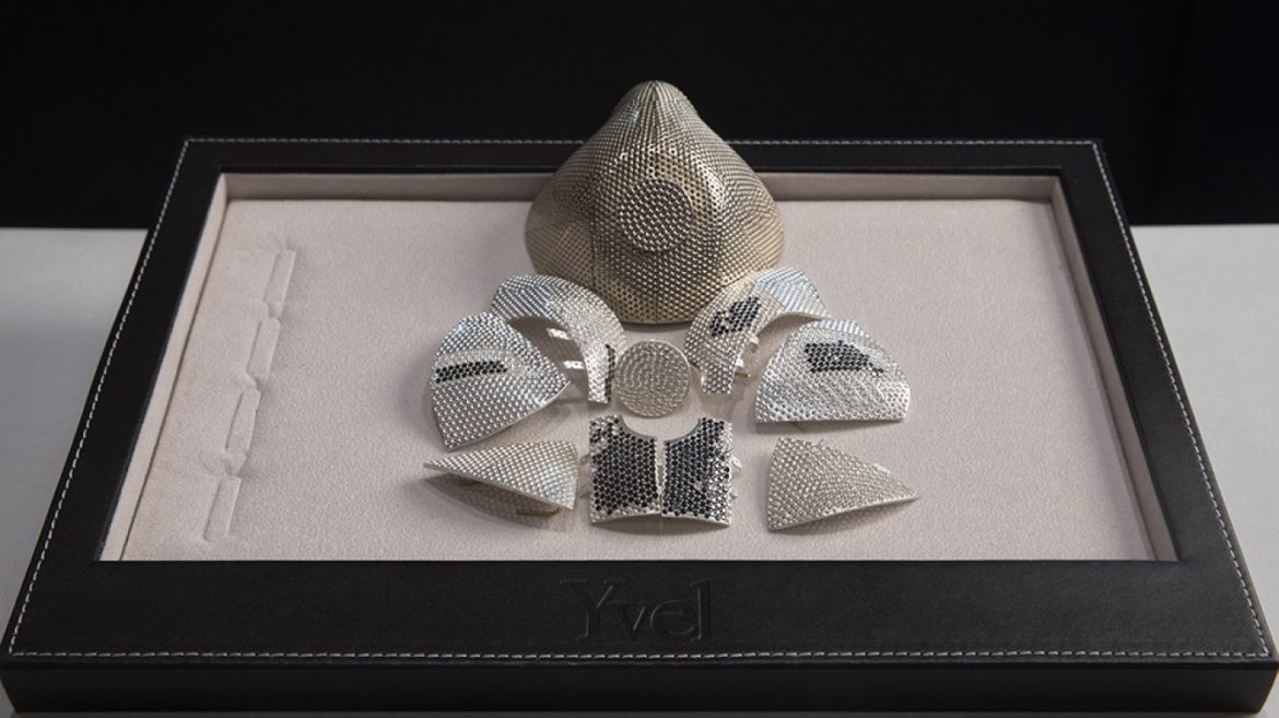 The World's Most Costly Face Conceal Is Lined With three,600 Diamonds and Prices $1.5 Million