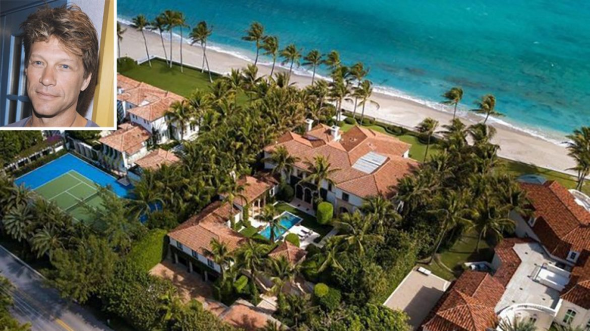 Jon Bon Jovi Sells One Palm Shoreline Mansion and Buys But another on the Same Day
