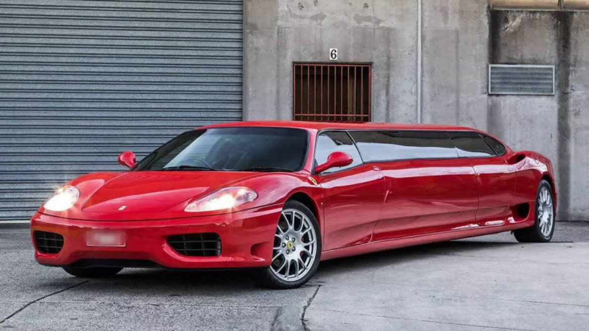 This Stretch Ferrari Merely Could per chance Be the World's Fastest Limo. It Can Be Yours for $285,000.