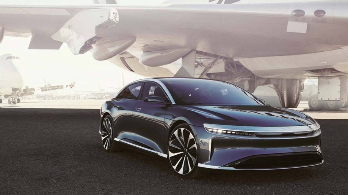 Lucid Motors Says Its Unique All-Electric Sedan Has a Bonkers Range of 517 Miles