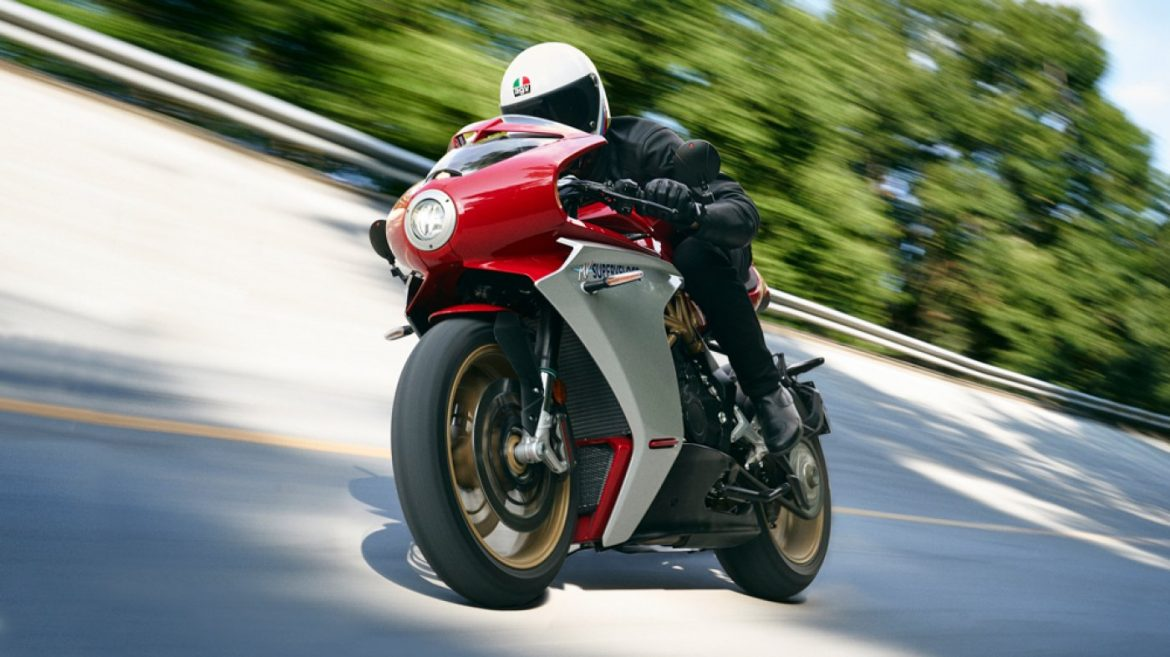 MV Agusta's Unique Superveloce 800 Will Kind You Feel Appreciate a Tall Prix Racer