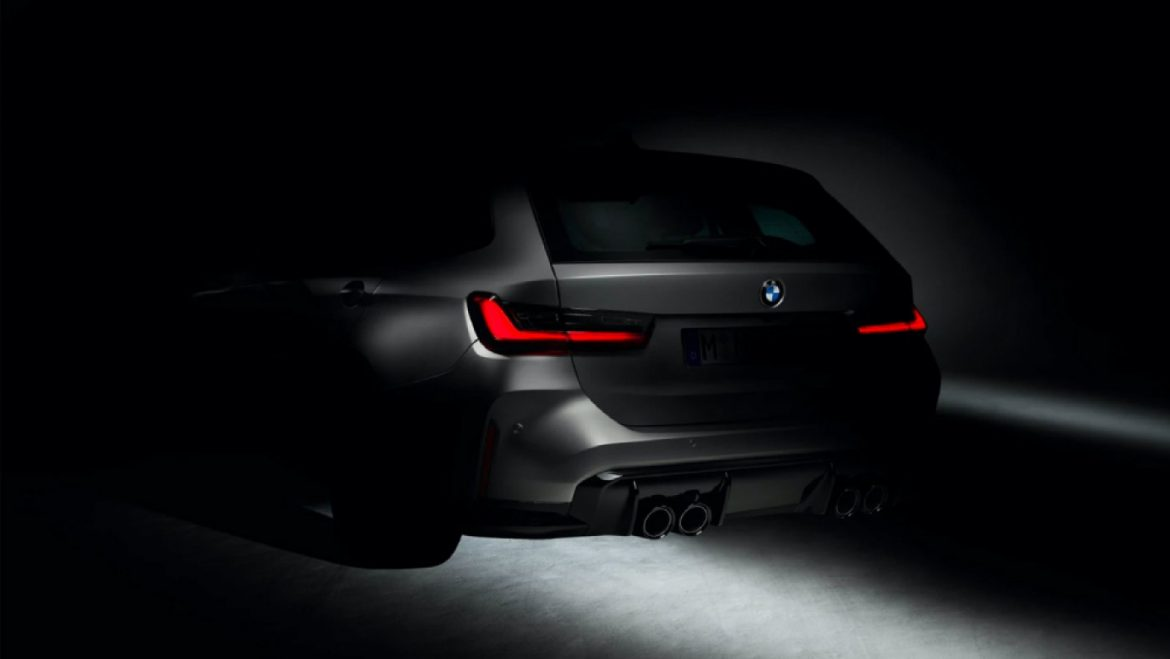 BMW Teases Its Very First M3 Touring Wagon