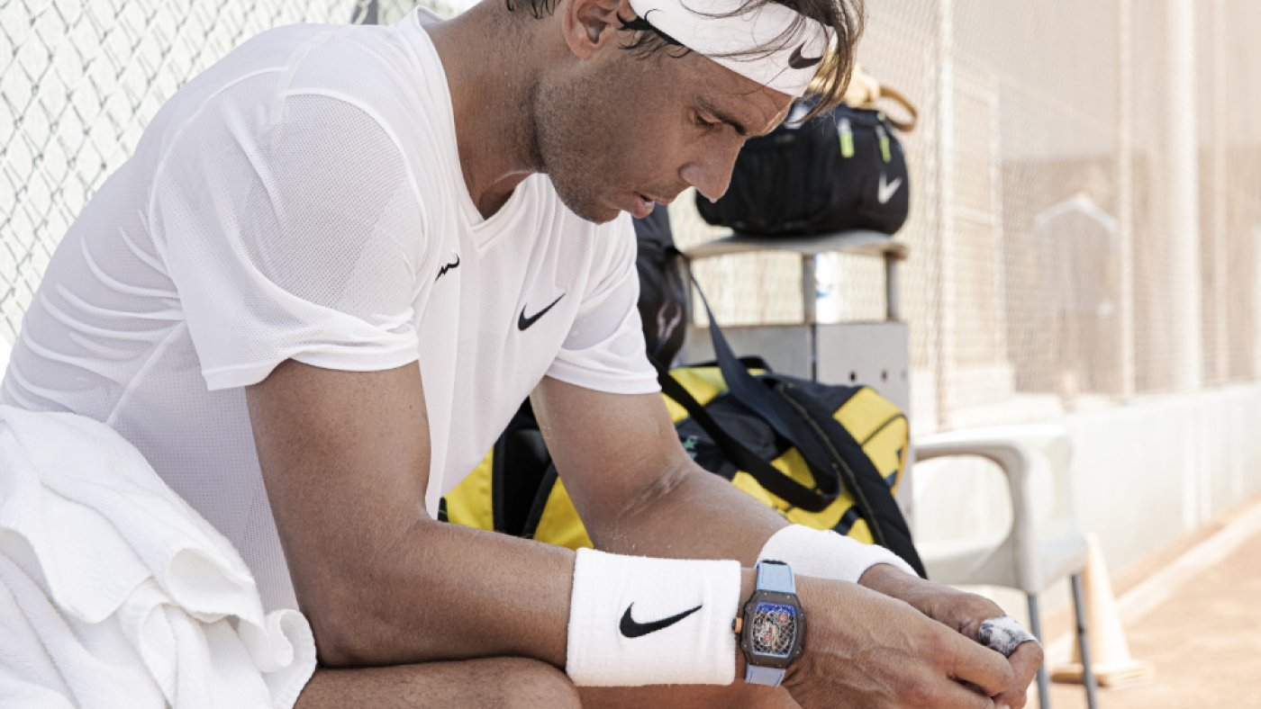 Rafael Nadal and Richard Mille Have a good time 10 Years of Collaboration With a $1 Million Tourbillon