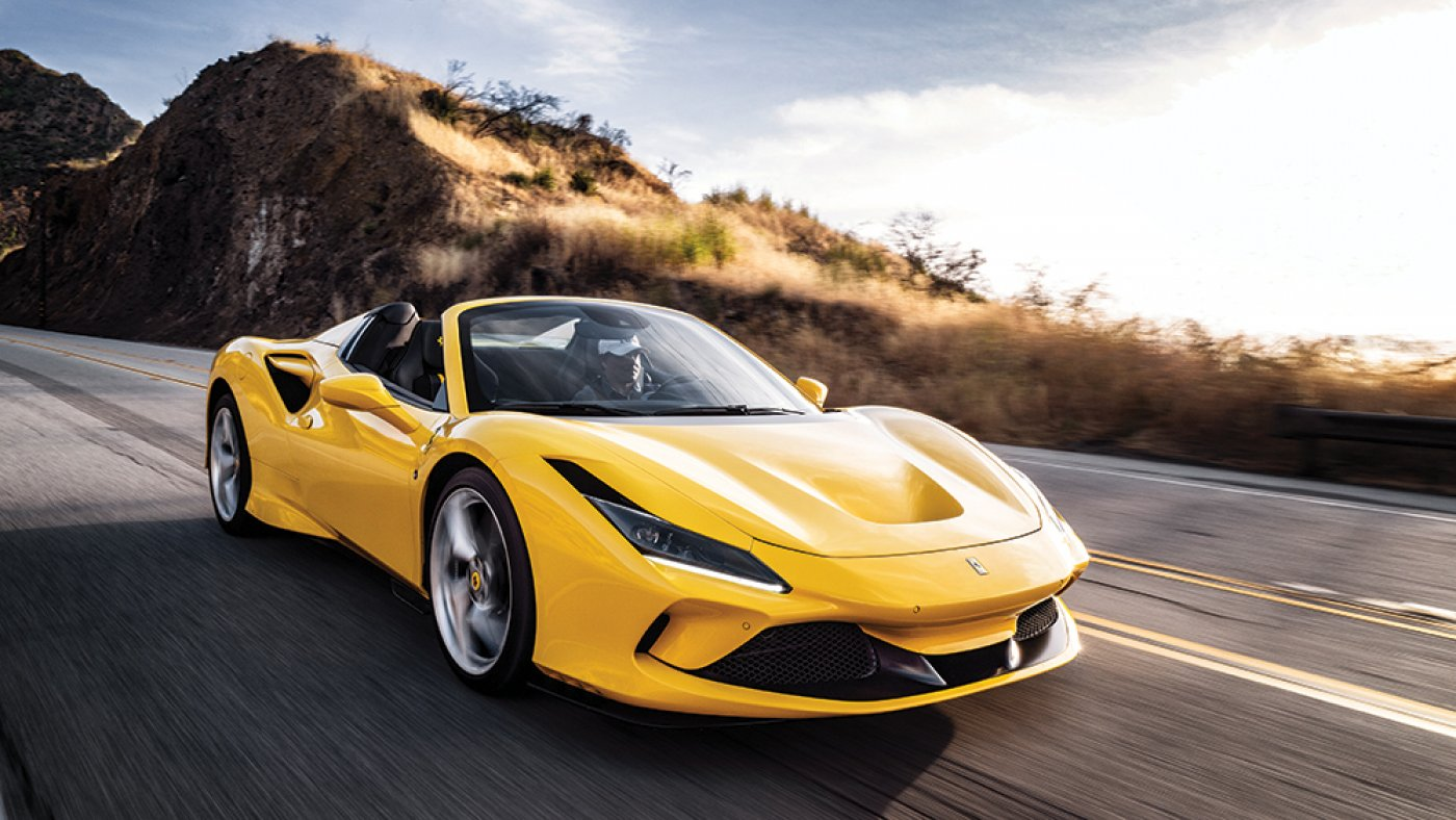 First Force: In the wait on of the Wheel of Ferrari's Unusual F8 Spider