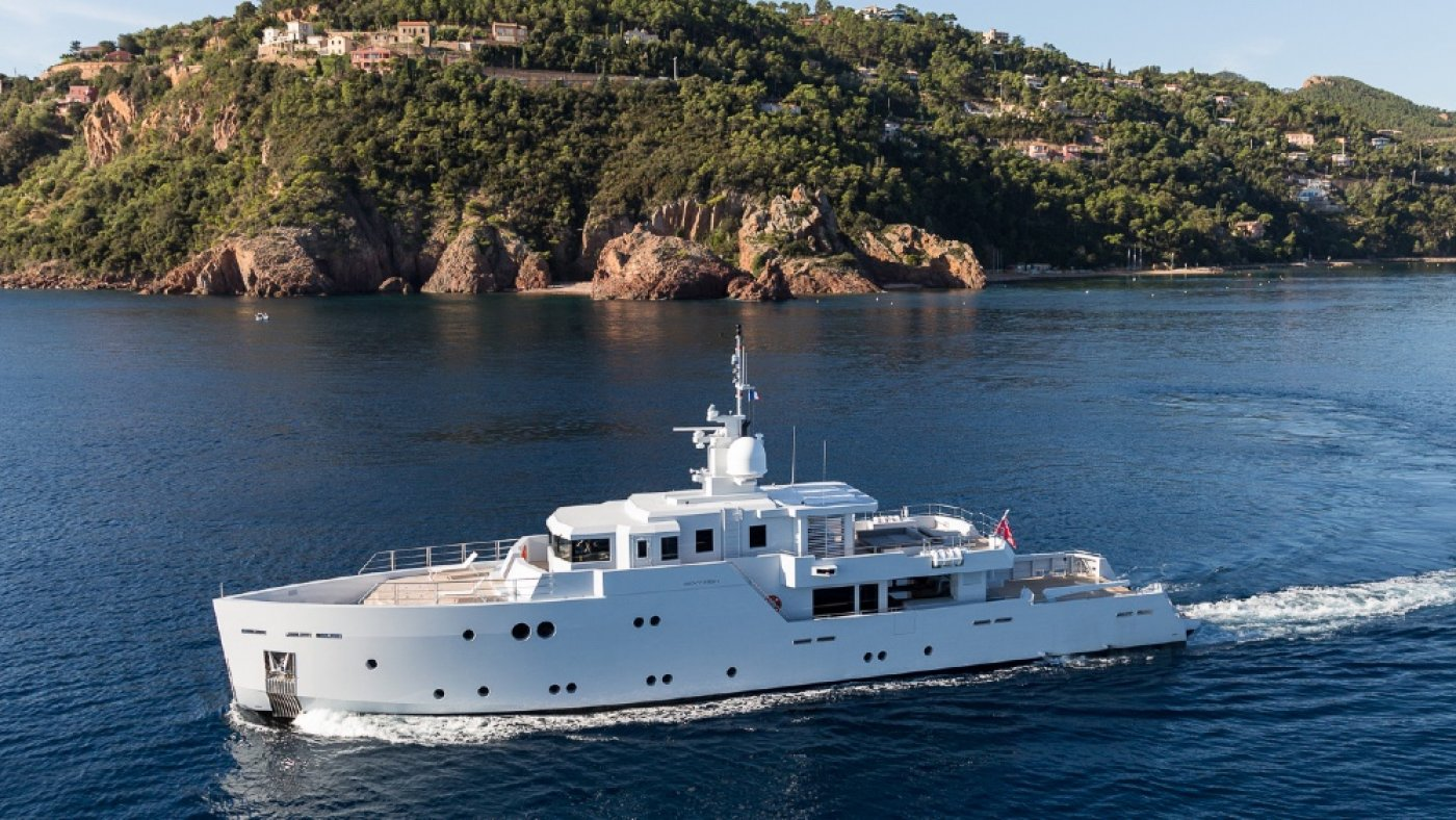 Boat of the Week: This Military-Vogue 129-Foot Superyacht Is In actuality a Luxe Seaside Dwelling on the Water