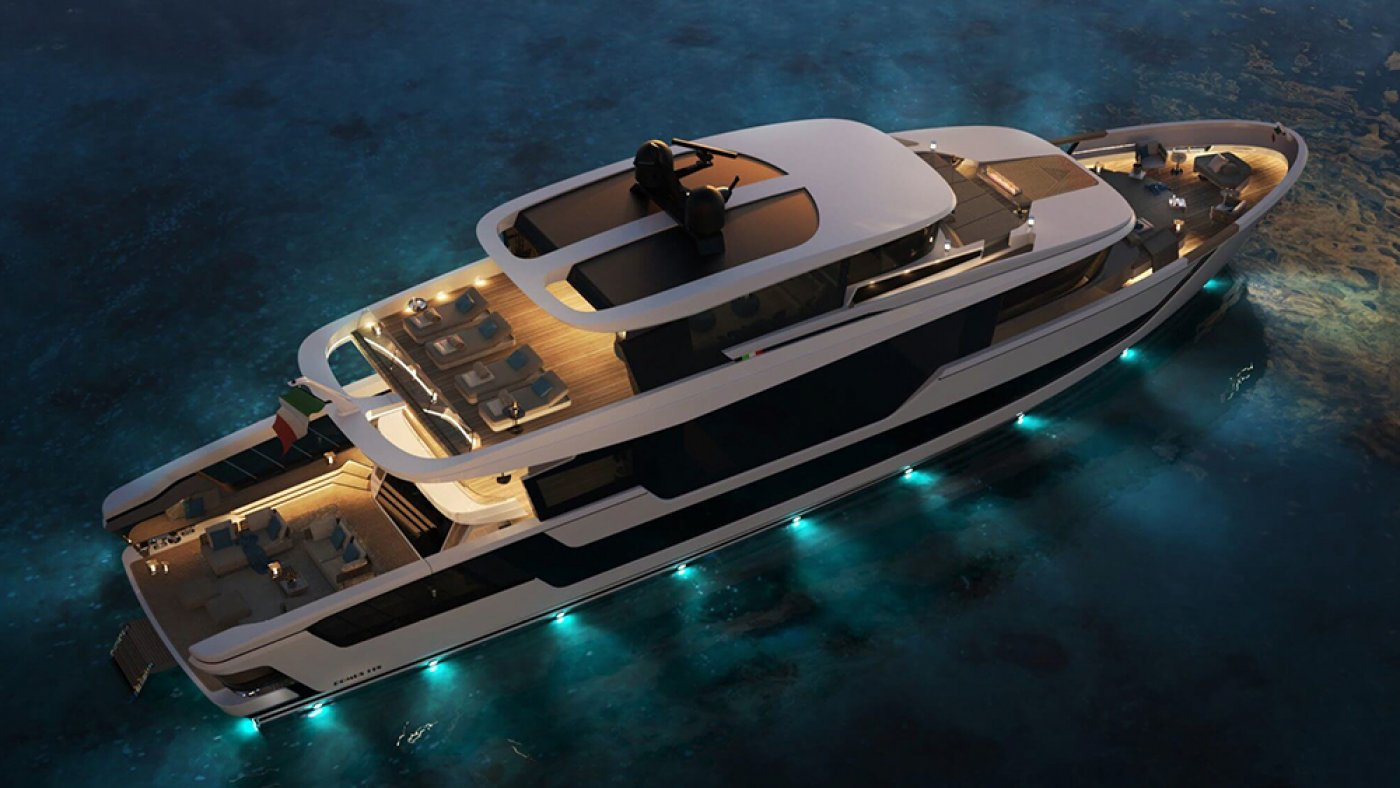 This Contemporary Occasion-Ready 118-Foot Superyacht Has a Rooftop DJ Gross sales draw, Solarium and Bar