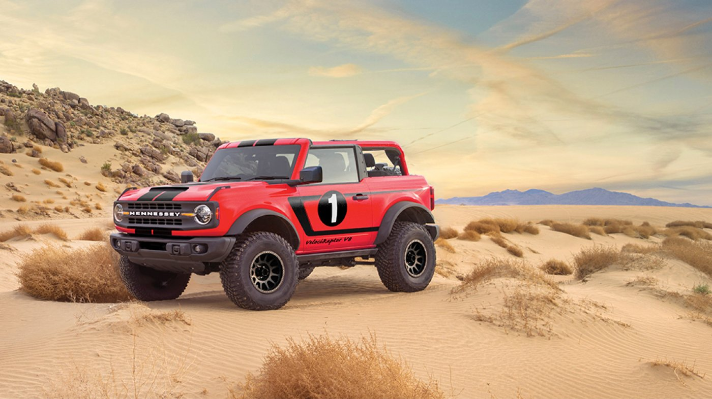 Hennessey's Unique Souped-Up VelociRaptor V8 Bronco Has 758 HP Under the Hood