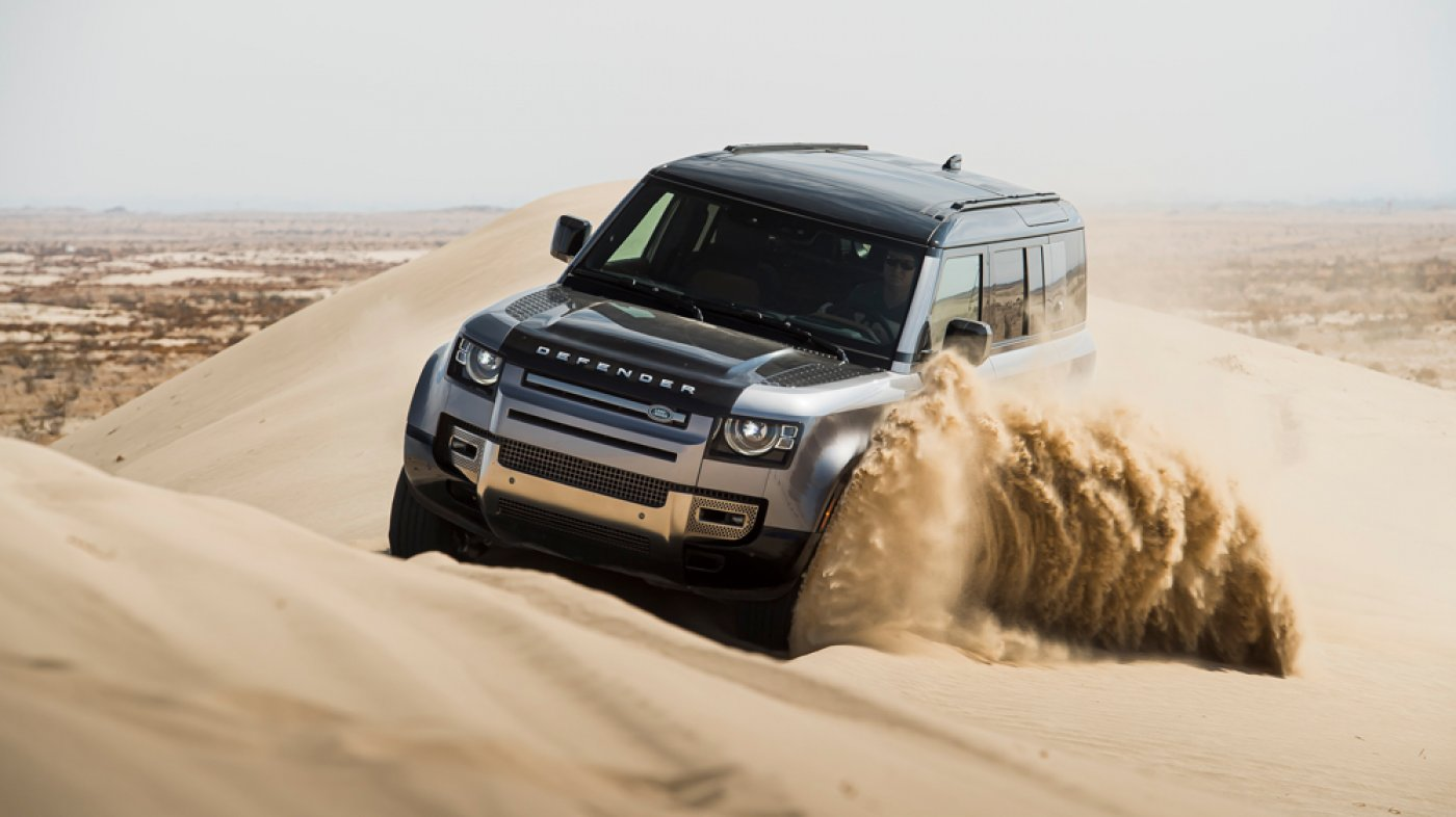 First Drive: How the 2020 Land Rover Defender Fared on a SoCal Desolate tract Offensive