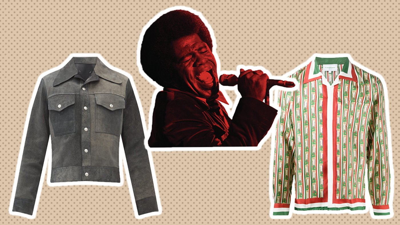A Unique James Brown Compilation LP Conjures up a Gape Again on the Singer's Iconic Fashion
