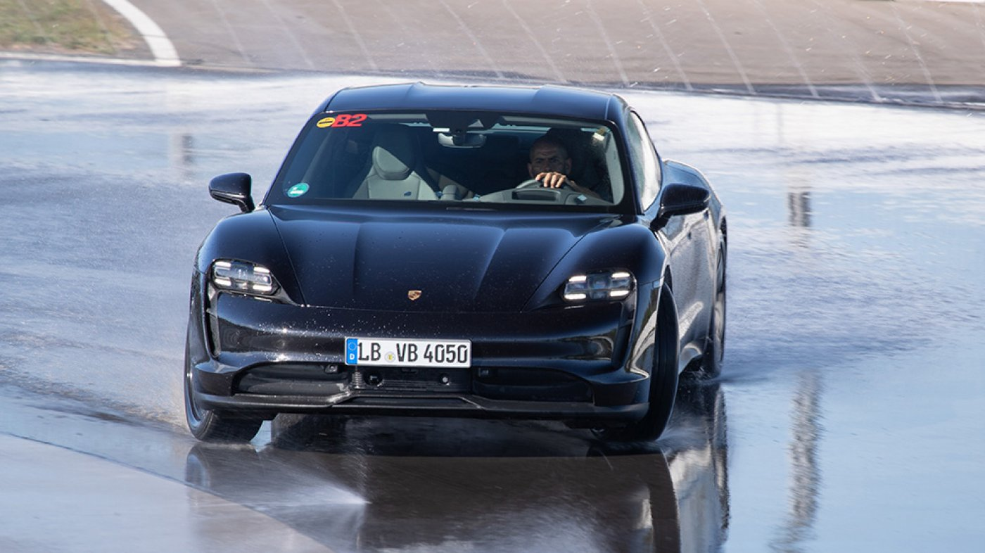 The Porsche Taycan Went on a 26.2-Mile Drift, Atmosphere a New World Document