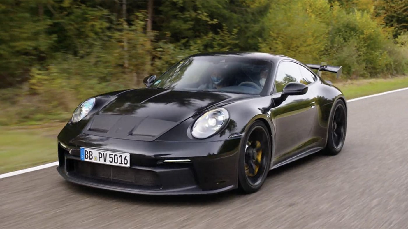 The Recent Porsche 911 GT3 Comes With Stick Shift, a Giant Cruise and Heaps of Perspective