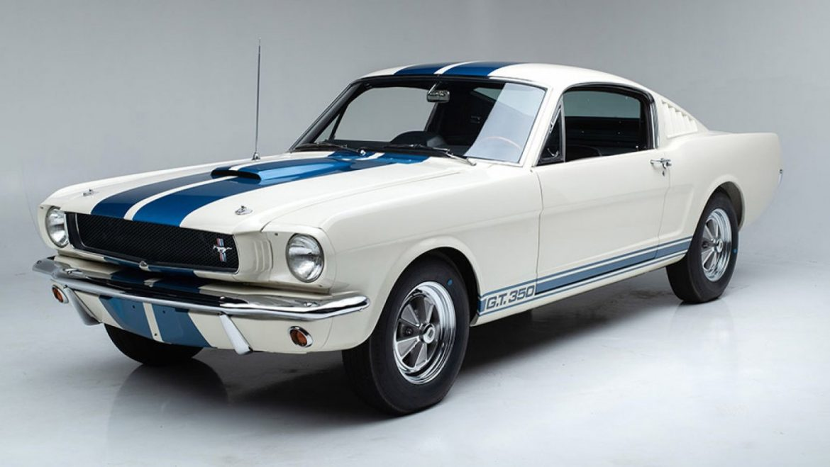 This Pristine 1965 Shelby GT350 Is a Traditional Automobile Collector's Dream