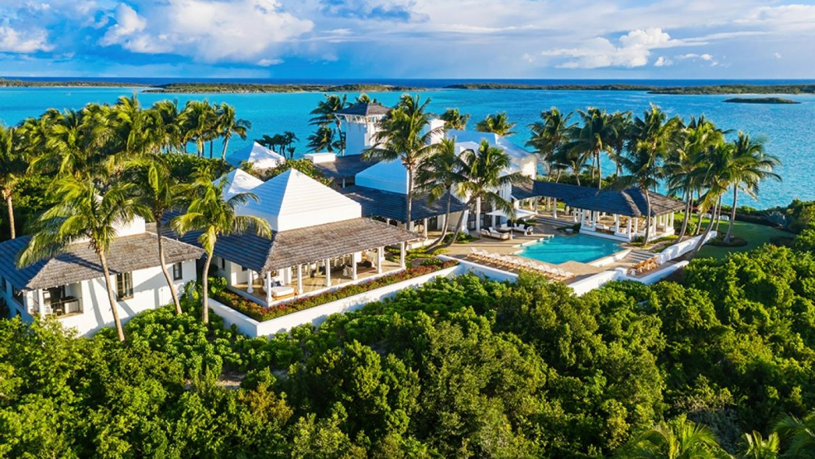 Home of the Week: Faith Hill and Tim McGraw's Deepest Island within the Bahamas Lists for $35 Million