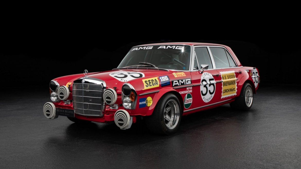 This Reborn Model of the Mercedes 'Red Pig' Has Us in Hog Heaven