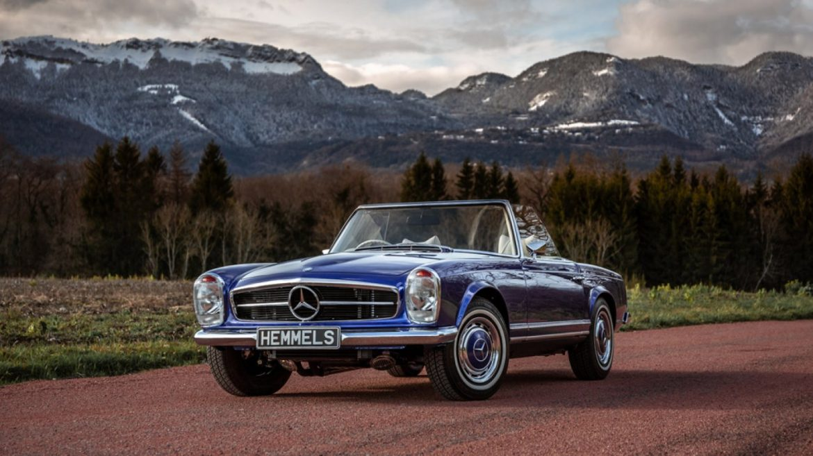How This Classic Mercedes-Benz Used to be Transformed Into an Electric Restomod With 200 Miles of Range