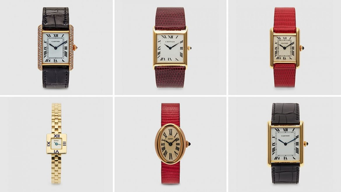 A Haul of Traditional Cartier Watches Is up for Sale at Dover Road Market