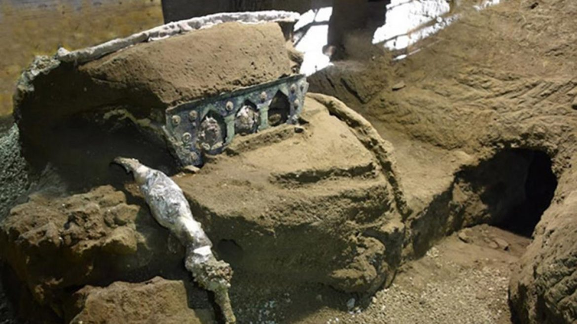 Archaeologists Correct Stumbled on the 'Lamborghini' of Chariots in the Ruins of Pompeii