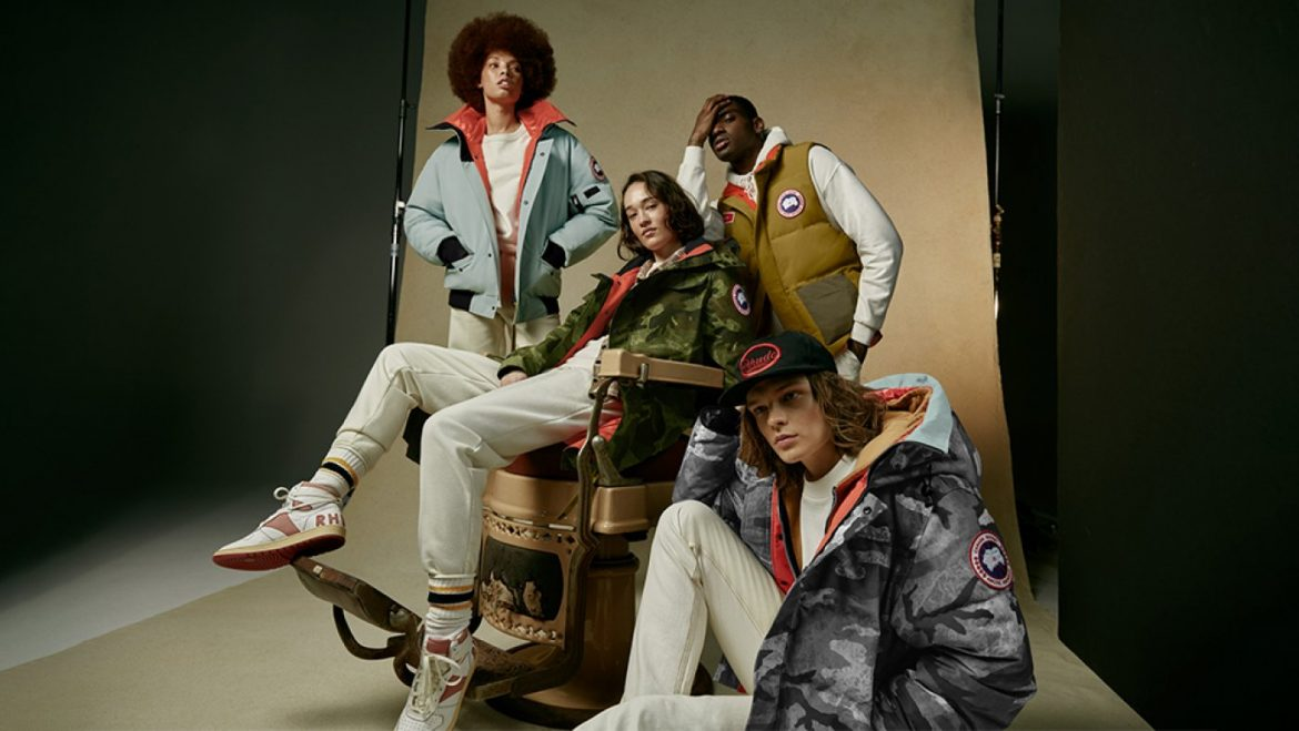 Canada Goose and Rhude Group Up to Outfit This Year's NBA All-Star Group