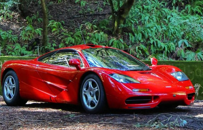 This 1-of-7 McLaren F1 Merely Went up for Sale