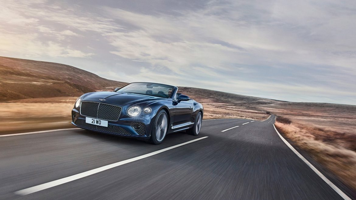 Bentley's Original Continental GT Tempo Convertible Is a 650 HP Magnificence Fit for Spring Touring
