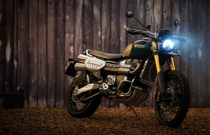 This Retro Steve McQueen-Inspired Triumph Scrambler Lets You Channel the King of Wintry