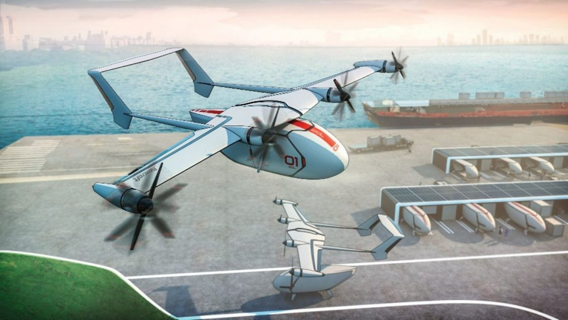 The Wings on This Recent Flying Automobile Idea Can Separate and Bound Themselves Home