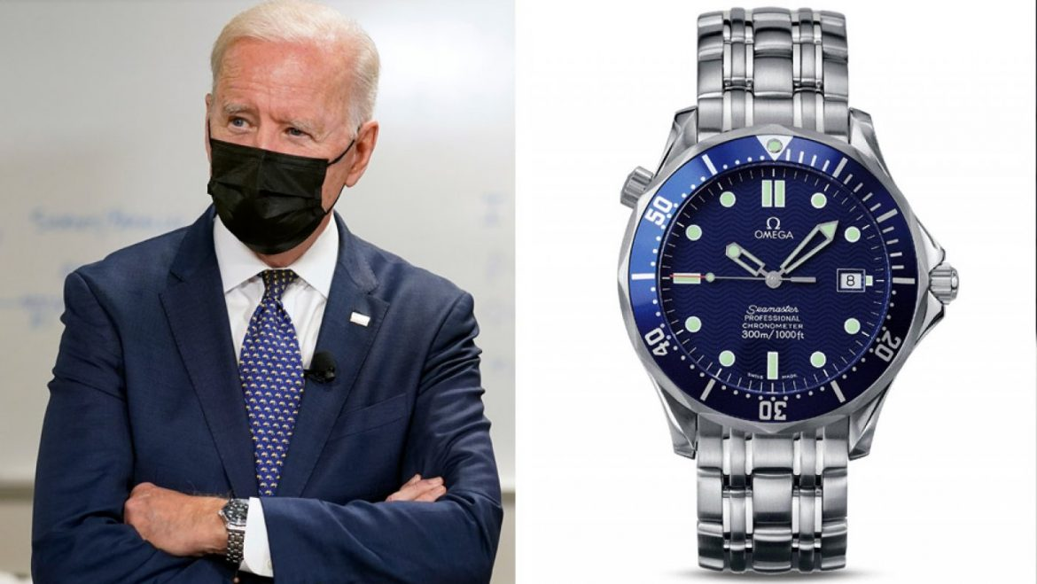 President Biden Wore His Trusted Omega Seamaster At some level of His Pitch for the American Households Opinion