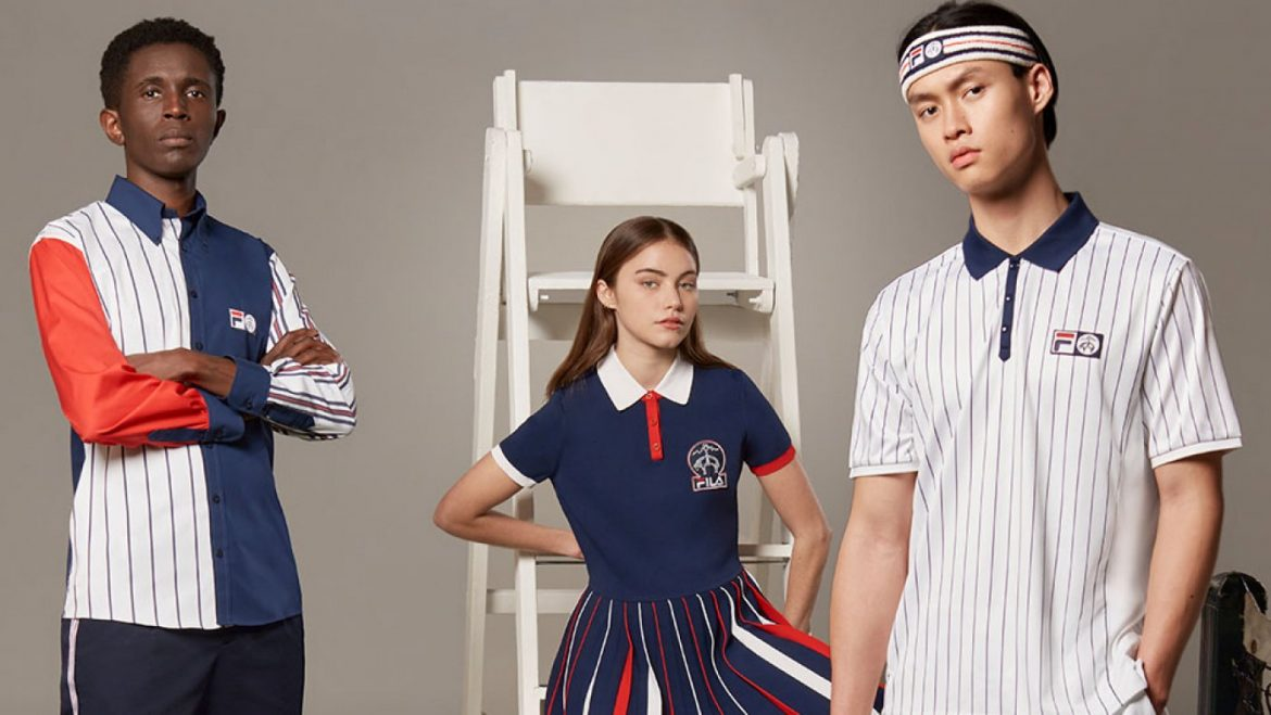 Brooks Brothers' Sporty FILA Collab Marries American Style With Tennis Heritage