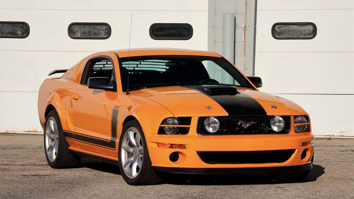 Racing Myth Parnelli Jones's Deepest Ford Mustang Saleen Is Heading to Public sale