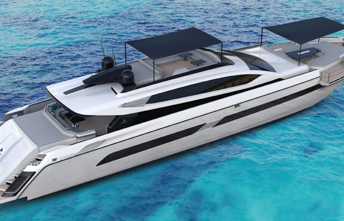 Otam's Lightning-Rapidly Contemporary a hundred fifteen-Foot Superyacht Can Attain a Blistering 44 Knots on the Water