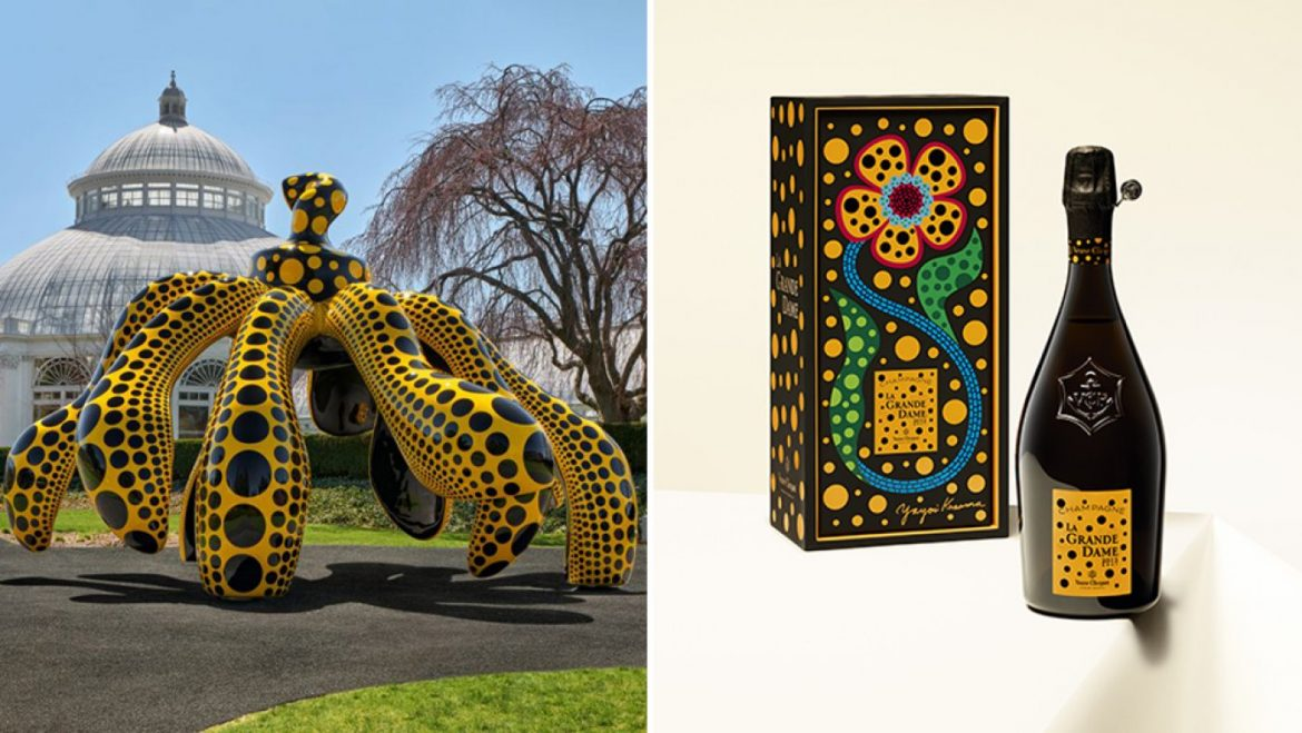 Veuve Cliquot Teamed Up With Yayoi Kusama to Bring Its Most unique Bubbly to the Recent York Botanical Garden