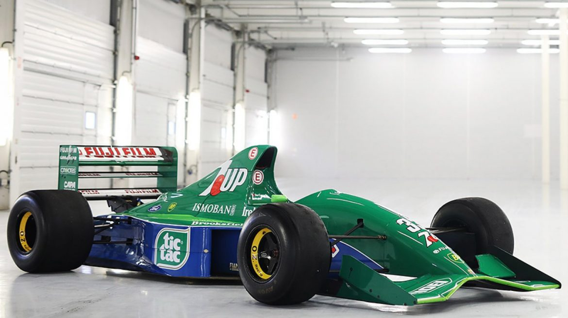 You Can Now Dangle Racing Story Michael Schumacher's First F1 Racecar for $1.Eight Million