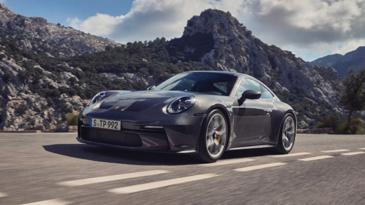 Porsche's Unique 502 HP 911 GT3 Touring Doesn't Want a Rear Hump to Flit