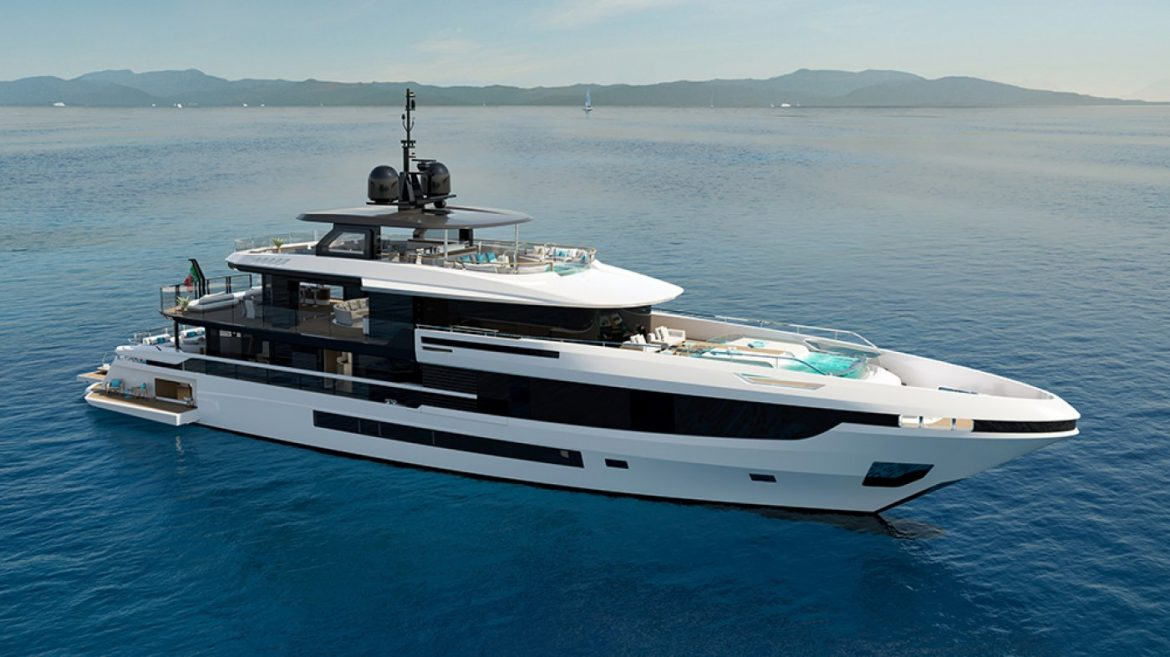 You Can Swim in Two Infinity Pools Aboard This Contemporary a hundred and forty four-Foot Tri-Deck Superyacht