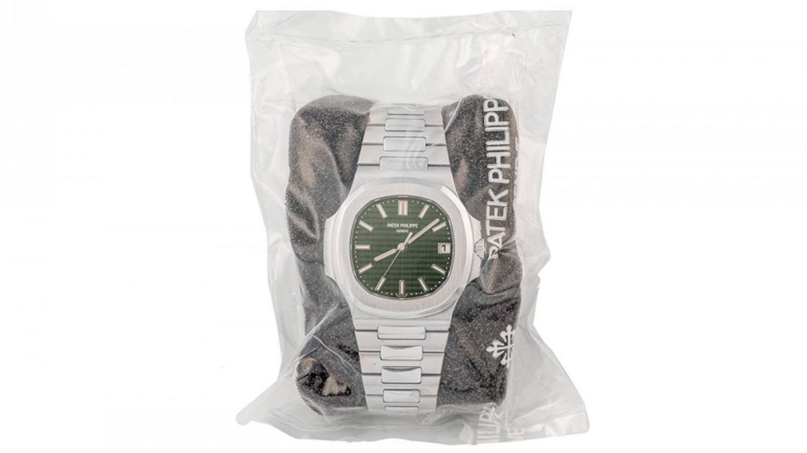 Patek Philippe's Green-Dial Nautilus Shatters Pre-Sale Estimates to Sell for $376,000