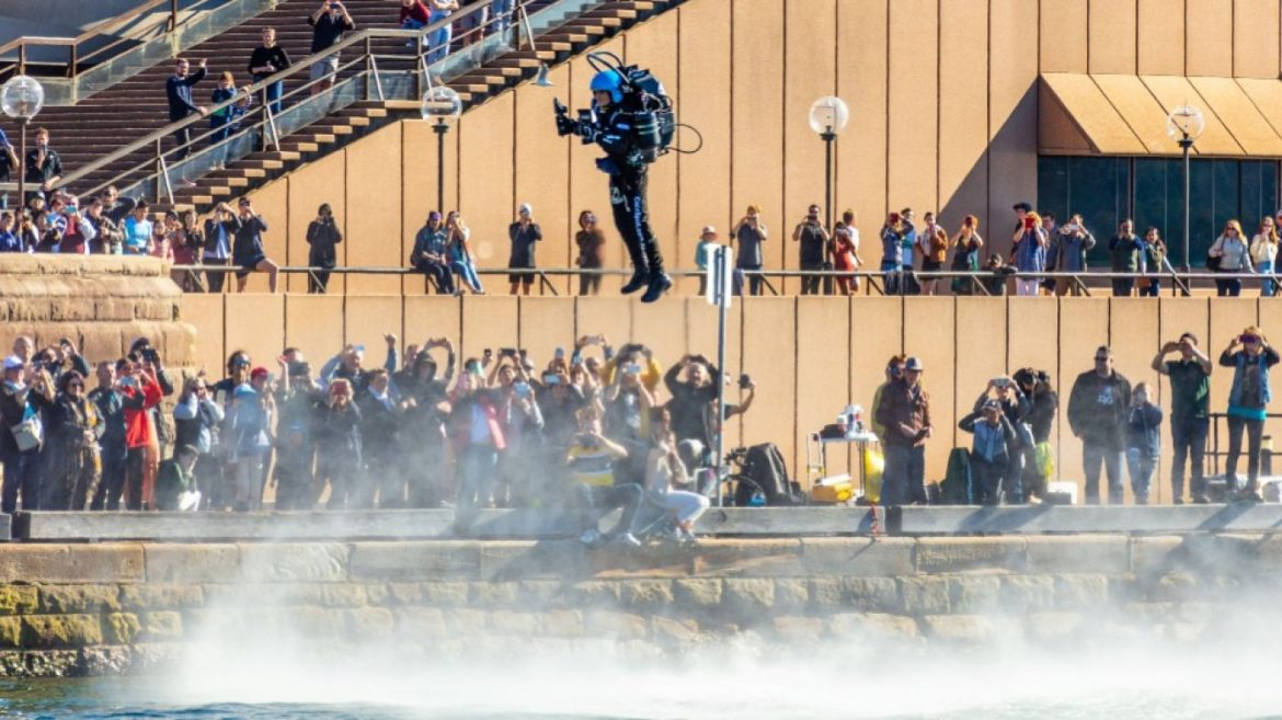 Jetpack Flying College Is Harder Than It Appears to be—and a Lot More Fun