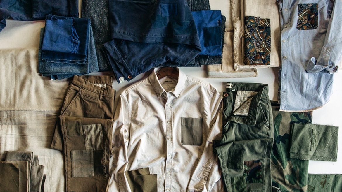 Taylor Sew Groups Up With Atelier & Repairs for a Line of Upcycled Fundamental Menswear