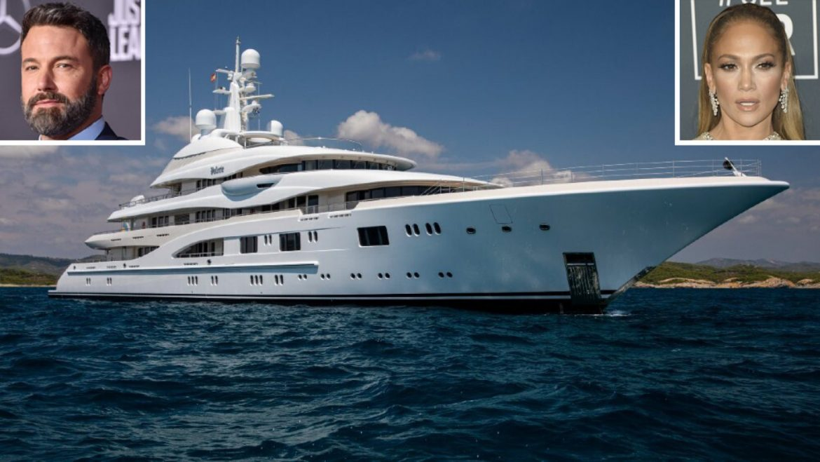 Boat of the Week: In the route of the Edifying 280-Foot Superyacht Jennifer Lopez and Ben Affleck Correct Made Critical