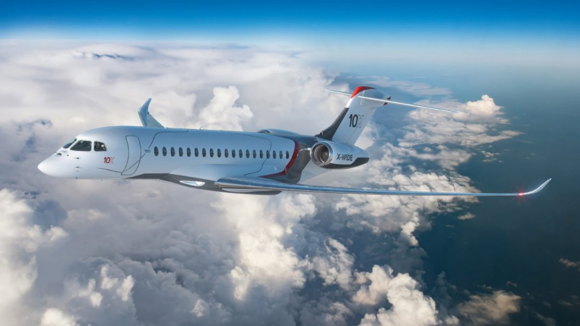 Dassault's Falcon 10X Might perhaps perhaps Correct Be the Most Overjoyed Ultra-Prolonged-Fluctuate Exchange Jet