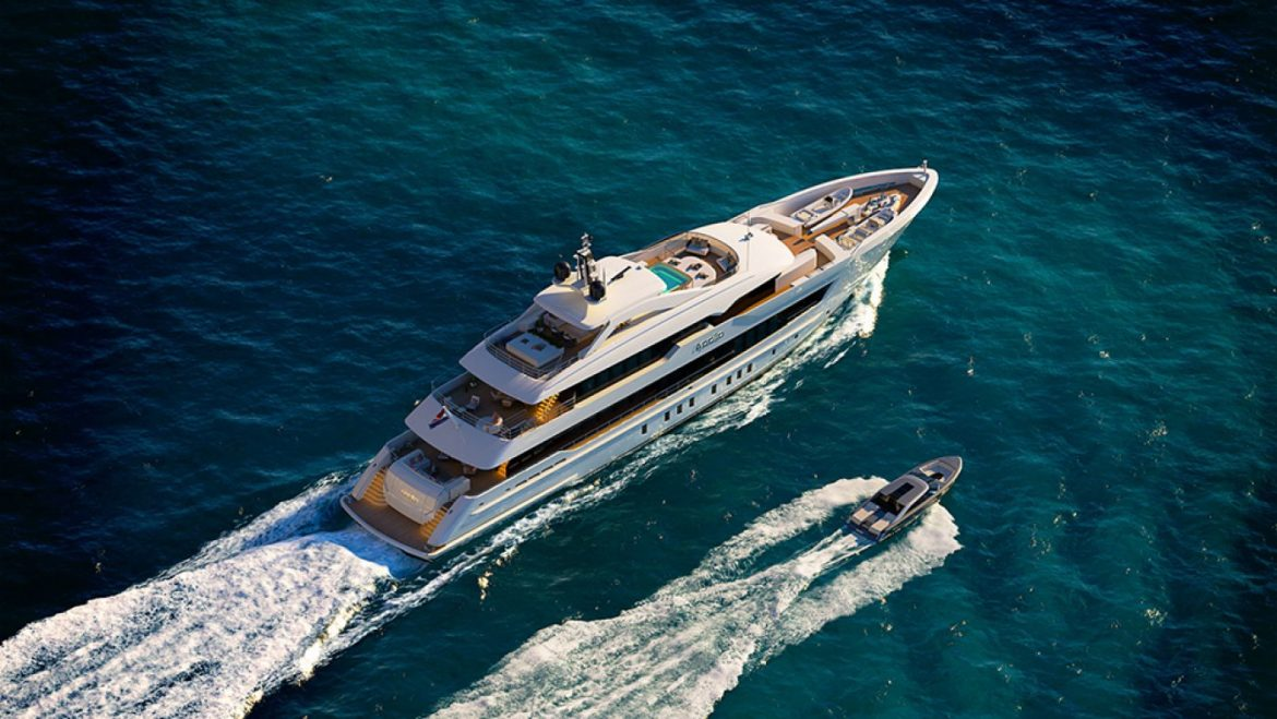 Heesen's Most in style Steel Superyacht Is Topped by a Sprawling Sundeck With Jacuzzi and Bar