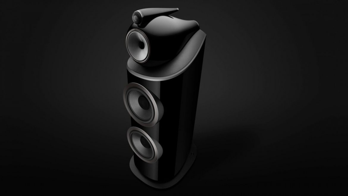 The Diamond-Based Bowers & Wilkins 801 D4 Loudspeaker Is Feature for Qualified Sound Replica