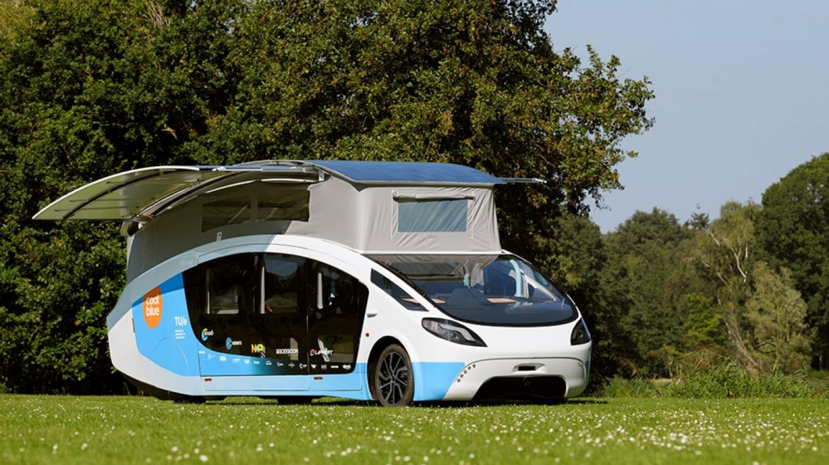 Dutch School College students Appropriate Built the World's First Photograph voltaic-Powered Camper, and They're Taking It On the Aspect freeway