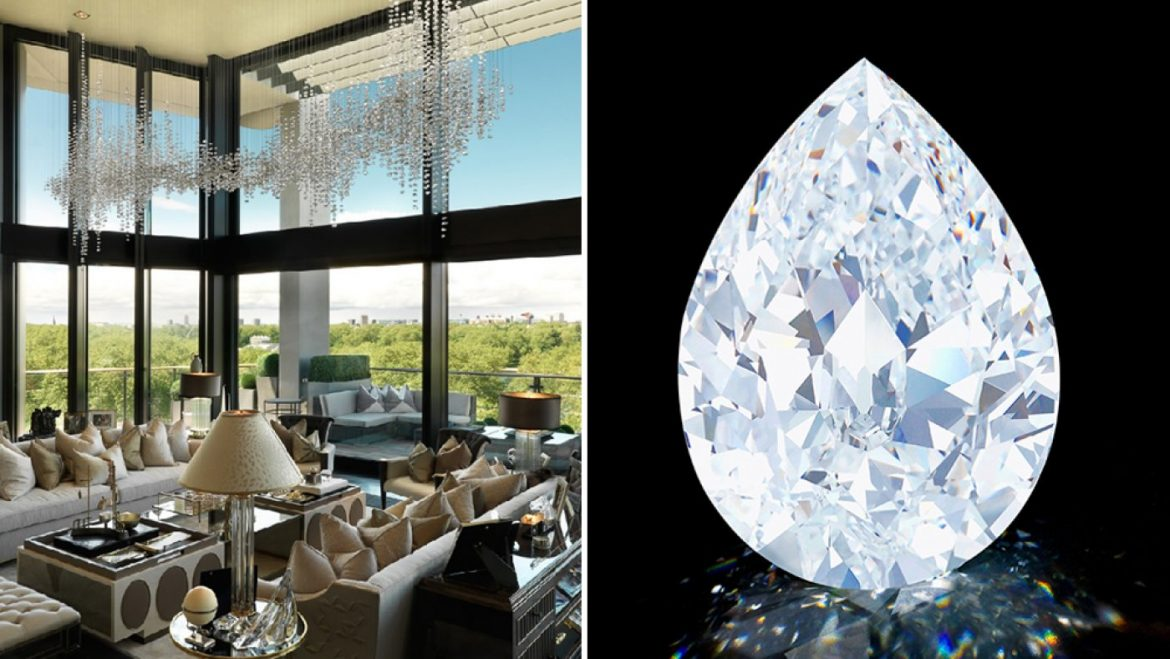 One Hyde Park Penthouse vs. the one zero one-Carat Diamond: Which Is the Better Cryptocurrency Acquire?
