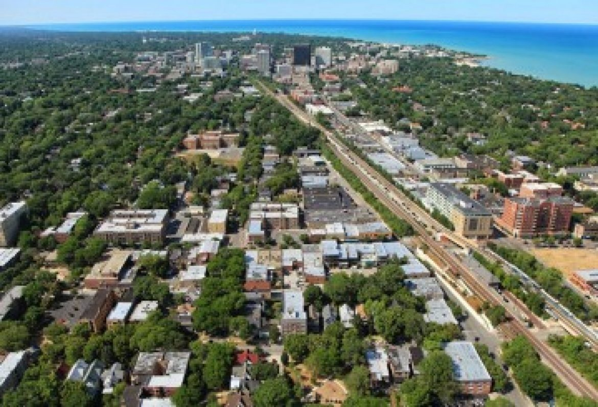 What does a return to Evanston suggest to you?